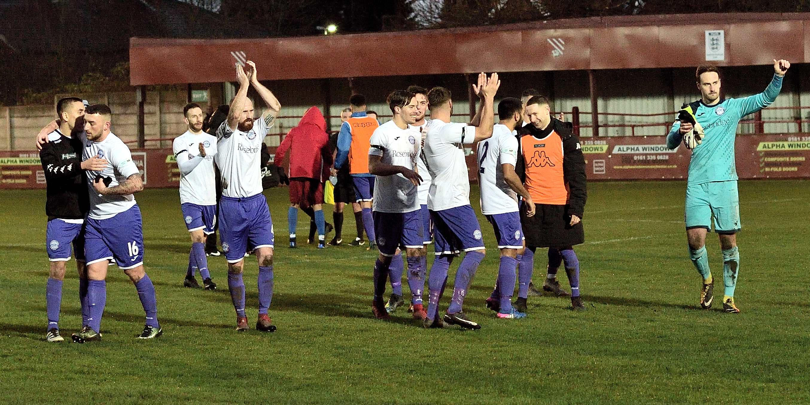 Droylsden 0 Rams 3 - Match Action
