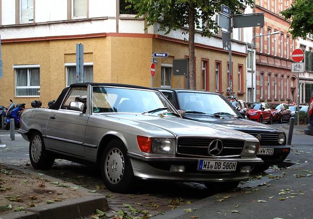 Mercedes-Benz 500 SL (R107)