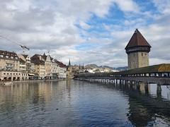 Chapel Bridge (14th cent.) on the Reuss River, Lucerne (9)