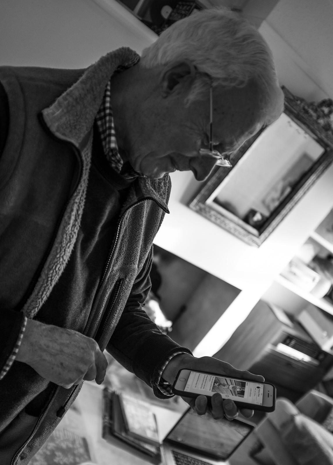Granddad checking in