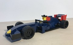 LEGO Model of the F1 Red Bull Racing RB15