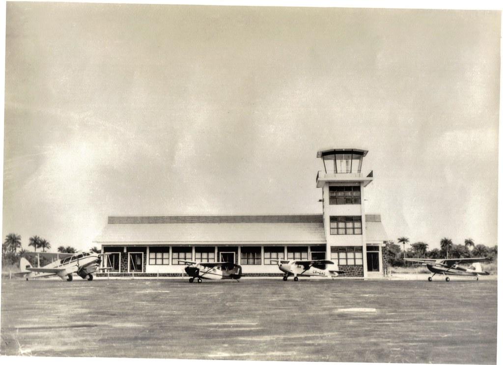 Aeroporto de Bissau, Guiné (S.E.I.T., ante 1974)
