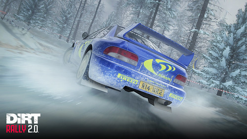 DiRT Rally 2.0 Colin McRae SUBARU Impreza S4 Rear