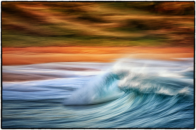 Abstract Wave Art.