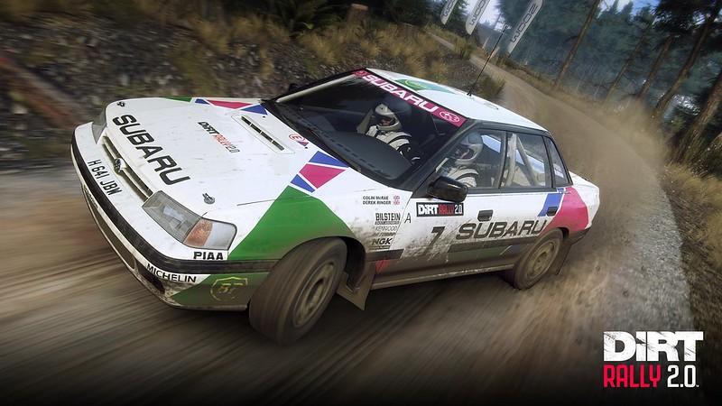 Colin McRae Flat Out Subaru Screenshots