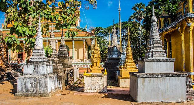 2019 - Cambodia - Wat Hanchey - 8