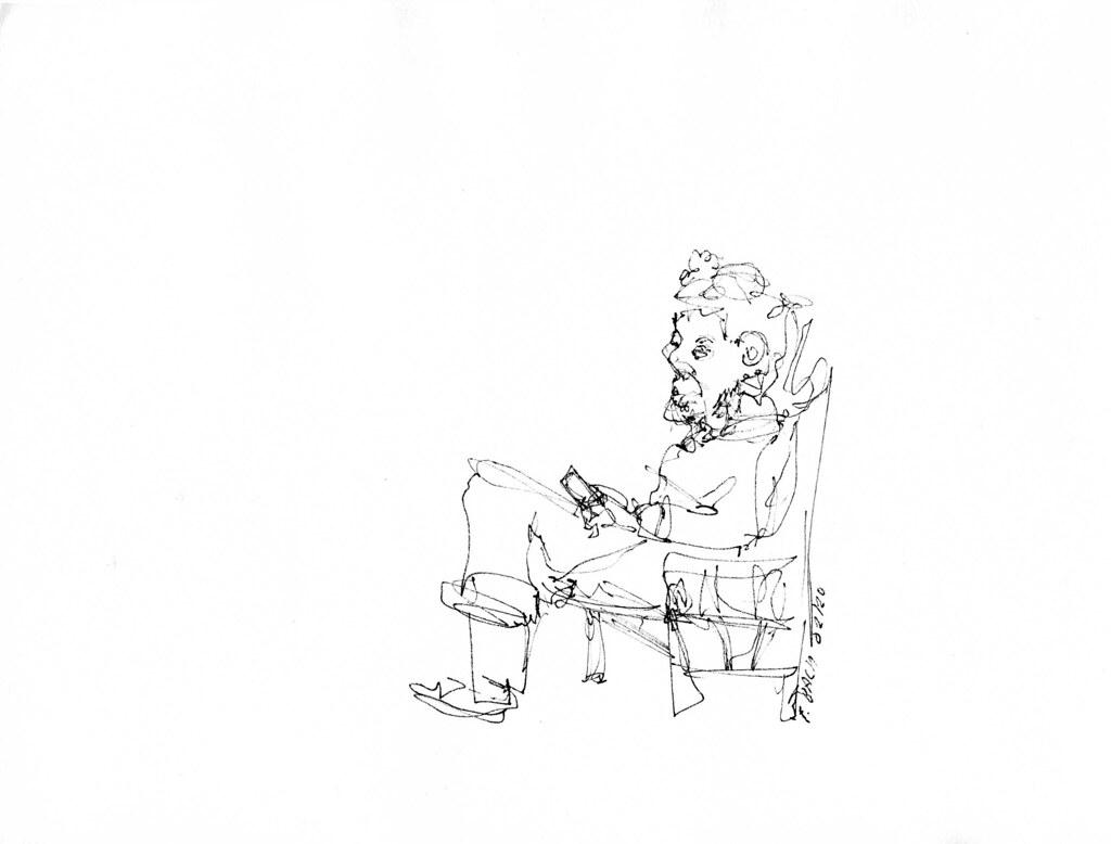 Portrait de poète