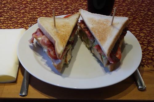New York Club Sandwich (meine Portion)