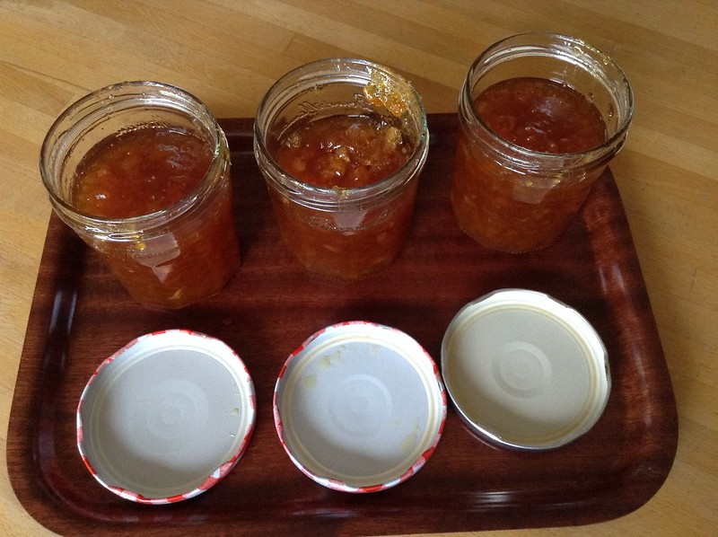Marmalade - microwave reboiled batch 1