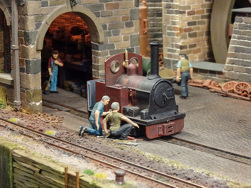 Canalside Ironworks loco
