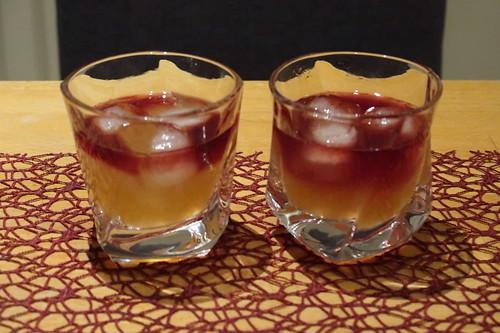 2 Gläser New York Sour