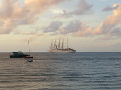 Ships and boats in Rodney Bay