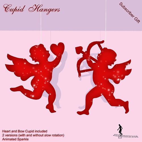 Cupid Hangers Subscriber Gift
