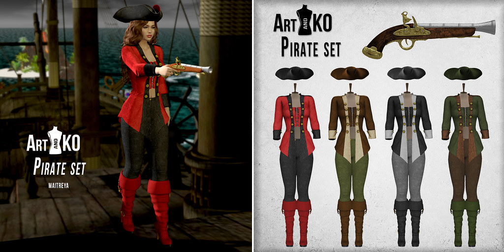 Art&KO – Pirate set – WLRP