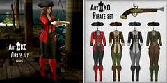 Art&KO - Pirate set - WLRP
