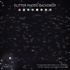 CELESTE - Glitter Photo Backdrop