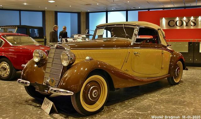 Mercedes 170V cabriolet A 1938