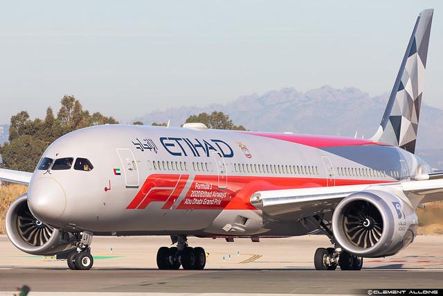 Etihad Airways Boeing 787-9 Dreamliner cn 39676 / 768 A6-BLV