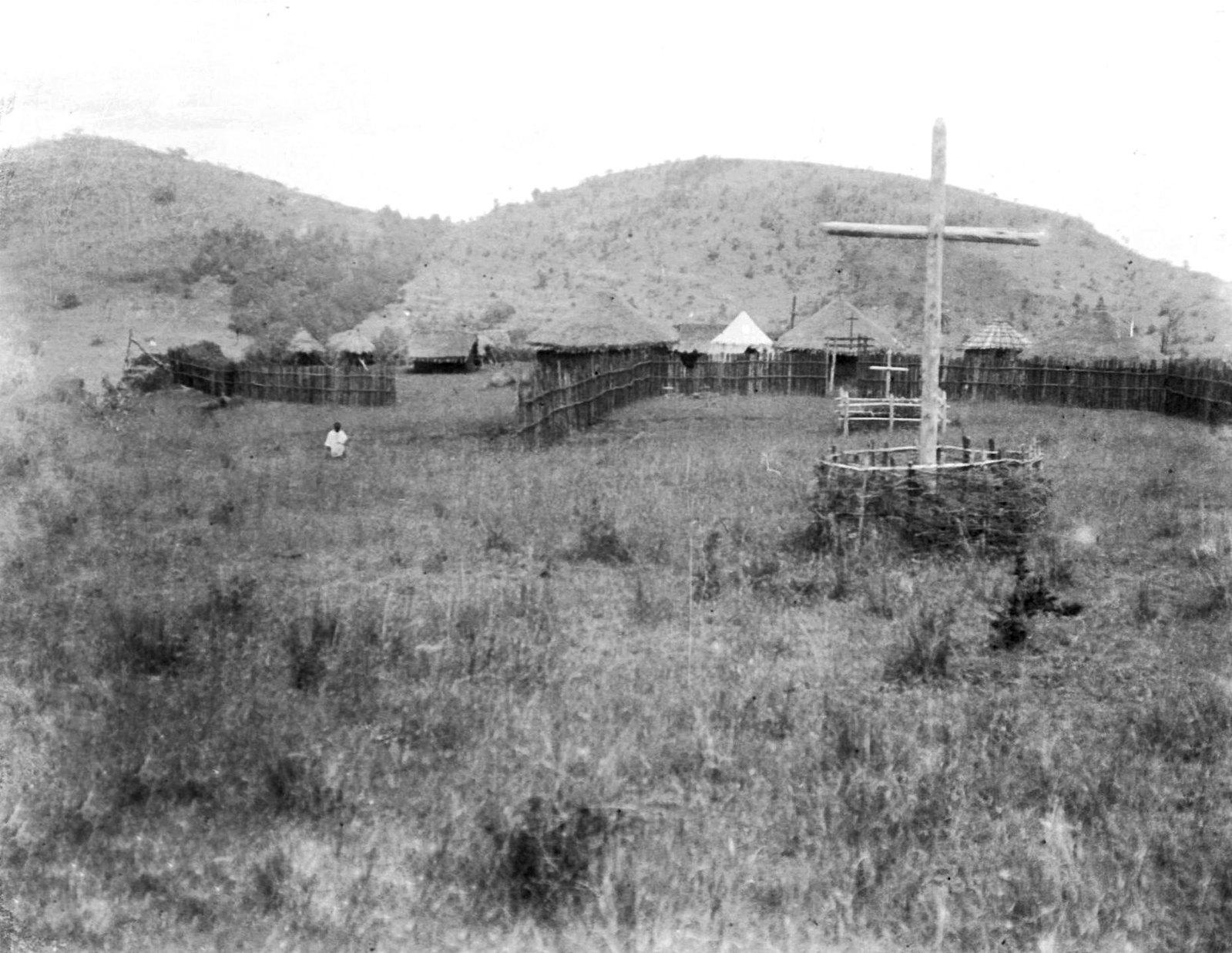 190. Общий вид католической миссии