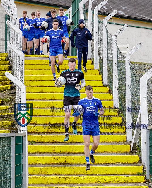 Monaghan 1-12 Tyrone 0-11 Allianz League Div. 1 - 2020