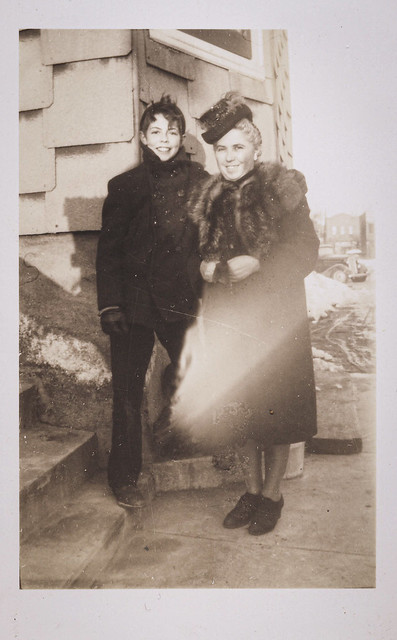 Joe and Caterina, late 1940's