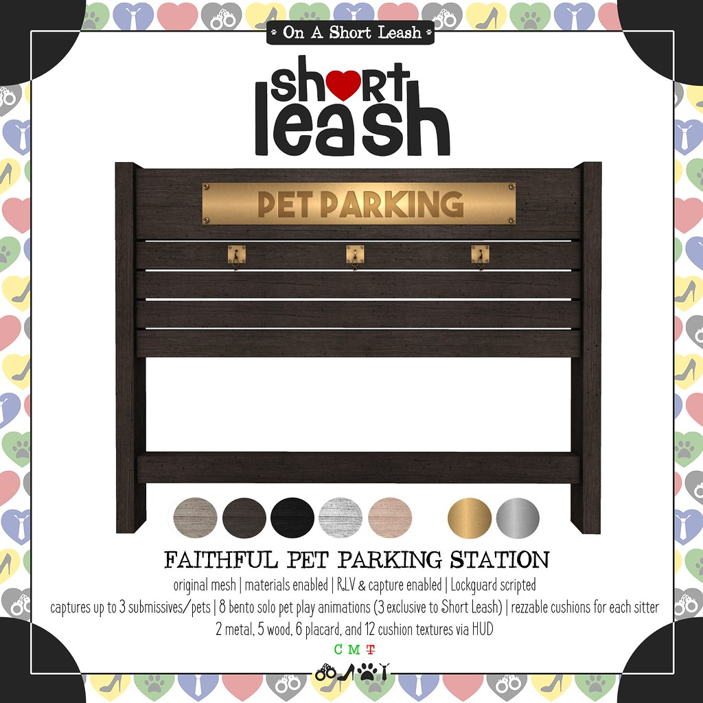 .:Short Leash:. Faithful Pet Parking Station