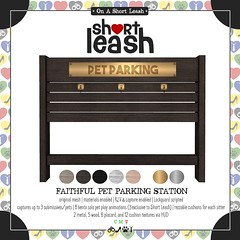 .:Short Leash:. Faithful Pet Parking Station