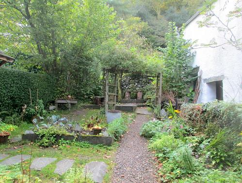 Dove Cottage, Grasmere Side Garden