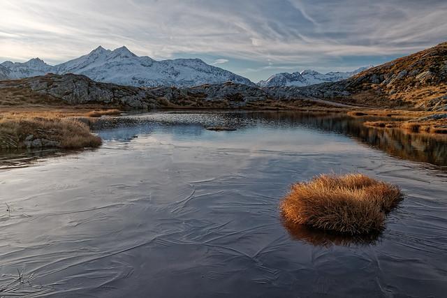 Late autumn lake