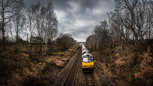 oakenshaw wakefield tug 60085 gbrf biomass drax 6e09 freight train railway
