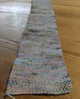 never ending linen stitch | by onebluestocking