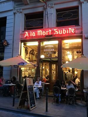 A La Mort Subite, Brussels