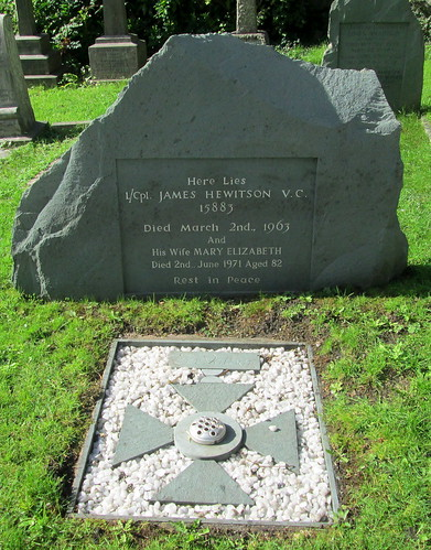 Grave of VC Winner, Coniston