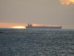 Freighter in Rodney Bay