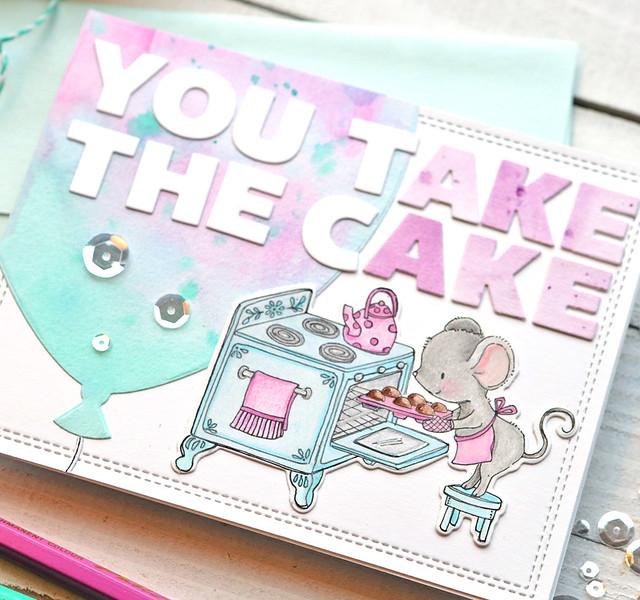 You Take the Cake close up 1