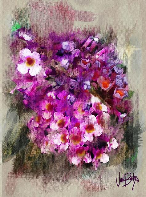 Kyle Flowers painted