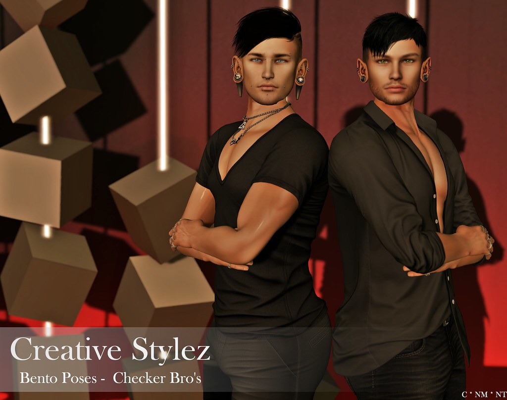 Creative Stylez - Bento Poses - Checker Bro's
