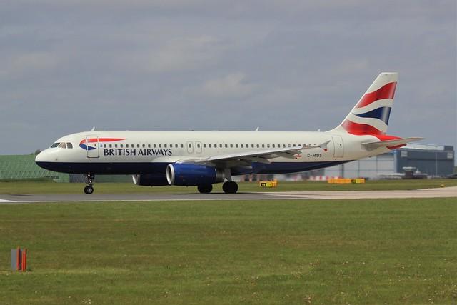 British Airways Airbus A320-200 G-MIDS