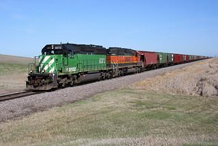 BNSF 8072 Fargo 28 Apr 07