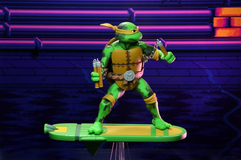 超級許瑞德太殺啦! NECA《Teenage Mutant Ninja Turtles: Turtles in Time》第二波角色 7 吋可動人偶套裝組