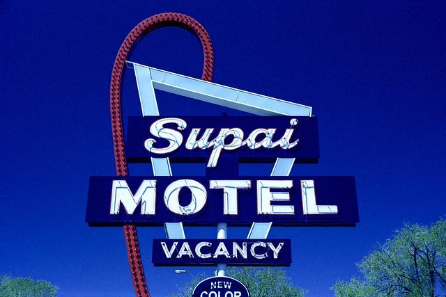 supai motel xpro / route 66. seligman, az. 2007.