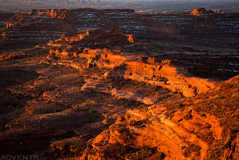 Canyonlands Ridge Light
