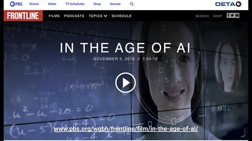 In the Age of AI: PBS Frontline | by Wesley Fryer