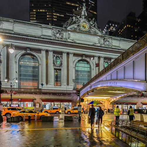Grand Central Terminal facade, Midtown Manhattan, New York City