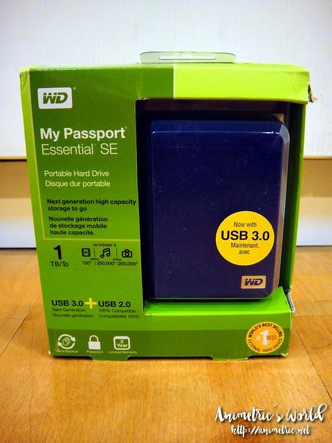 Western Digital My Passport Essential