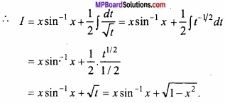 MP Board Class 12th Maths Important Questions Chapter 7 समाकलन img 23
