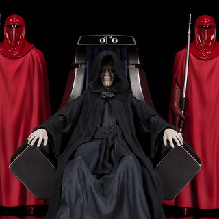 與帝王身份相稱的豪華規格! S.H.Figuarts《星際大戰六部曲:絕地大反攻》白卜庭皇帝-死星二號王座室套組 パルパティーン皇帝-Death Star II Throne Room Set-(STAR WARS: Return of the Jedi)【魂商店】