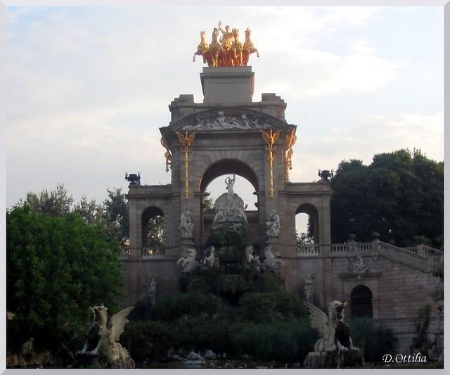 Spain - Barcelona - Cascada Monumental