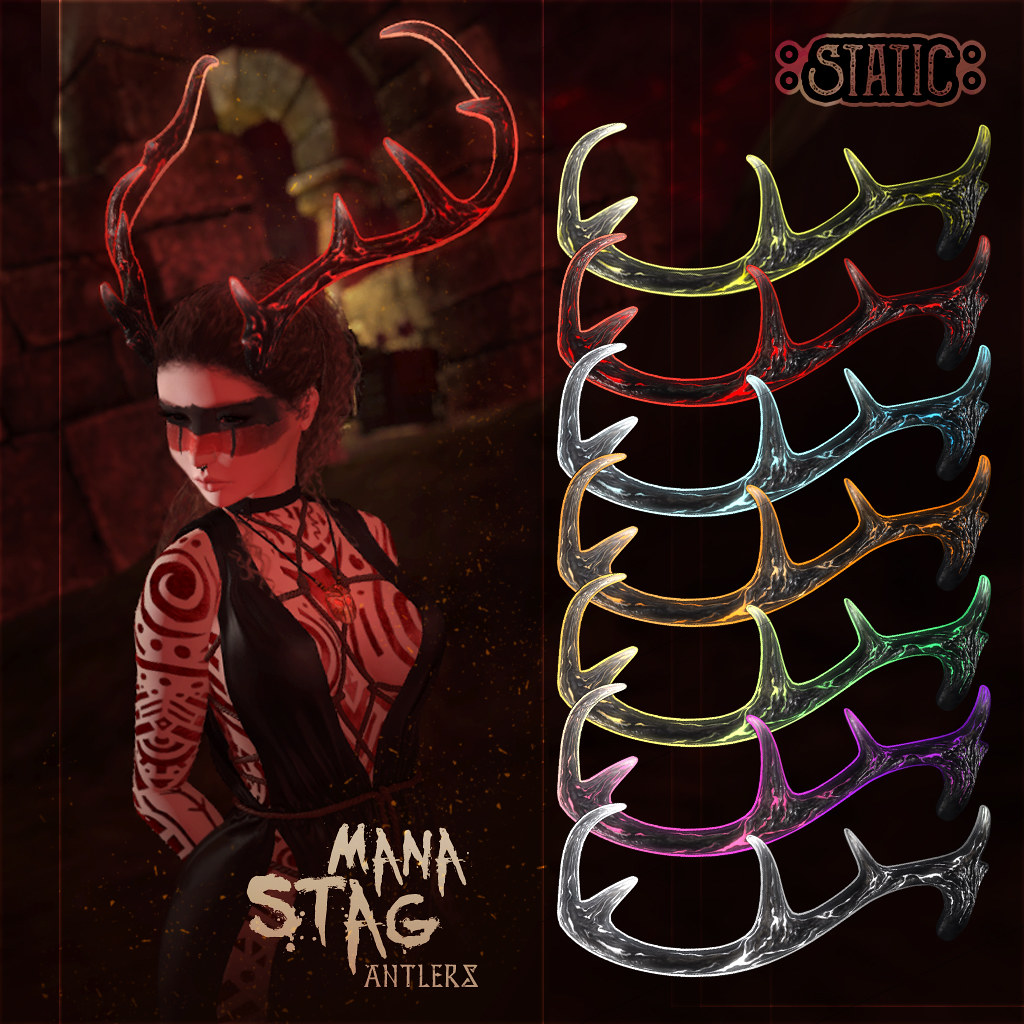 Static – Mana Stag Antlers