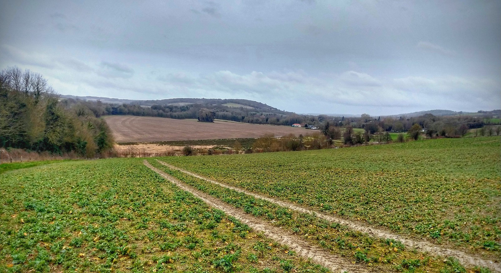 Darent Valley looking South